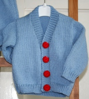 Little boy blue - cardigan