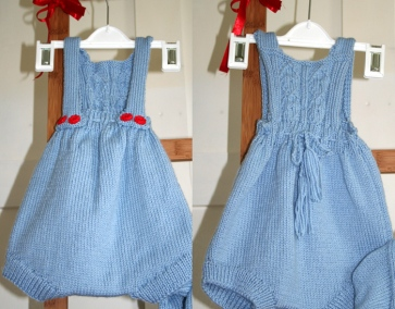 Little boy blue - romper suit