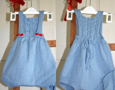 Little boy blue - romper suit