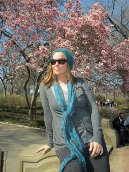 just the hat for a stroll in Central Park